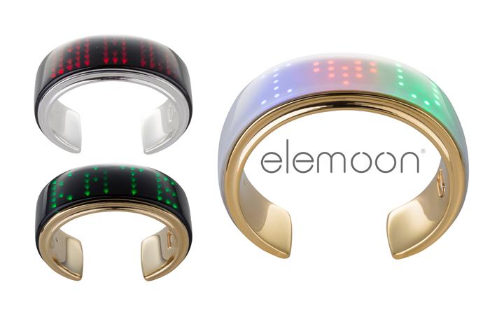 elemoon, un gioiello hi tech che mostra notifiche e non solo