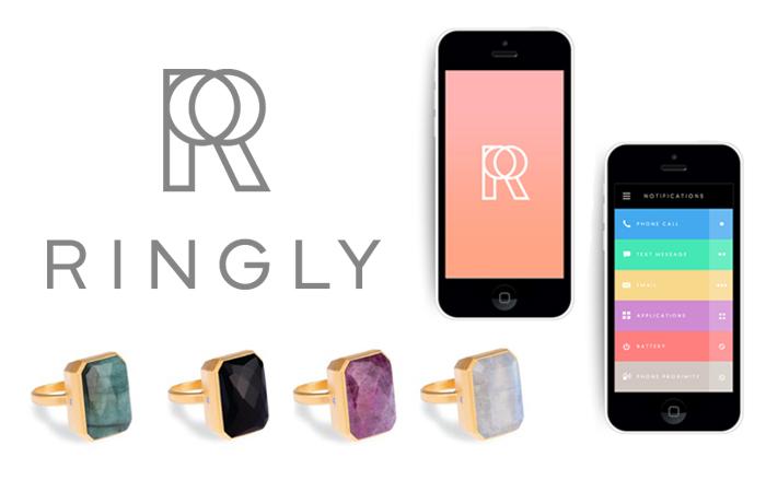 Ringly, un anello che mostra notifiche