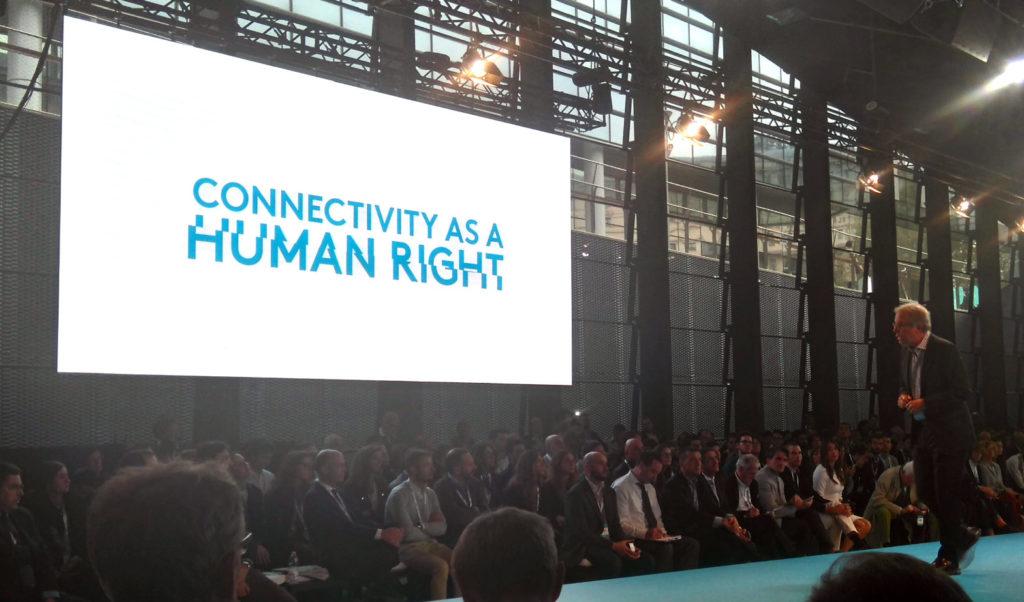 la connettività è un diritto umano