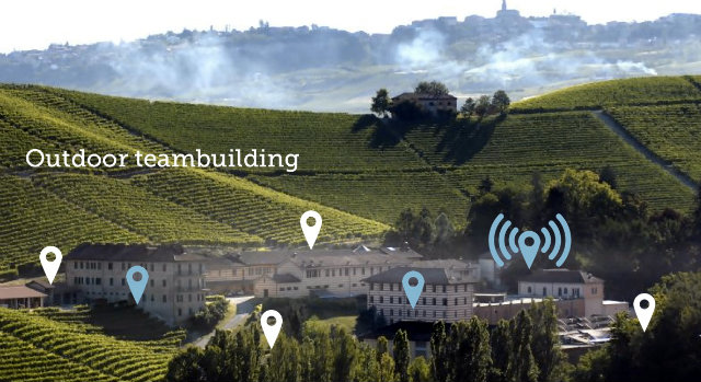 otdoor teambuilding in collina