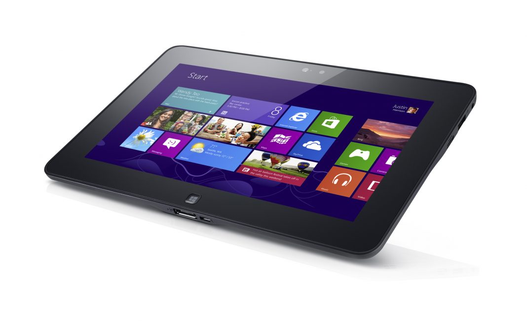 Foto di un tablet