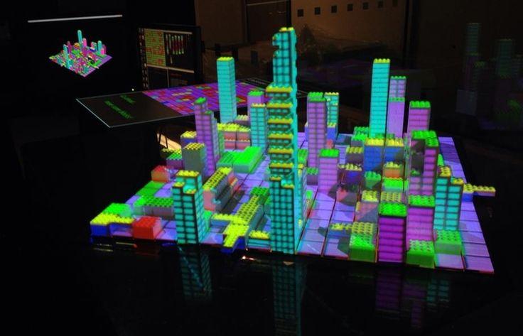 Cityscope urban simulation, le città invisibili di Calvino nella realtà virtuale