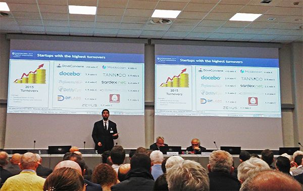 Una conferenza dal politecnico di milano riguardo le startup