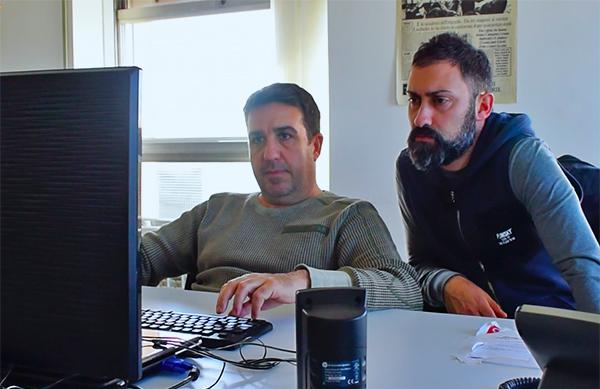 Riccardo D'Ambrosi e Andrea Caracciolo: supportano il cliente, fronteggiano le emergenze.