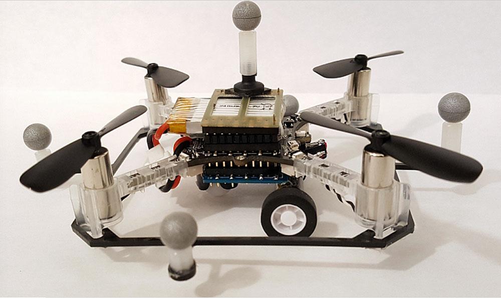 un drone multimodale