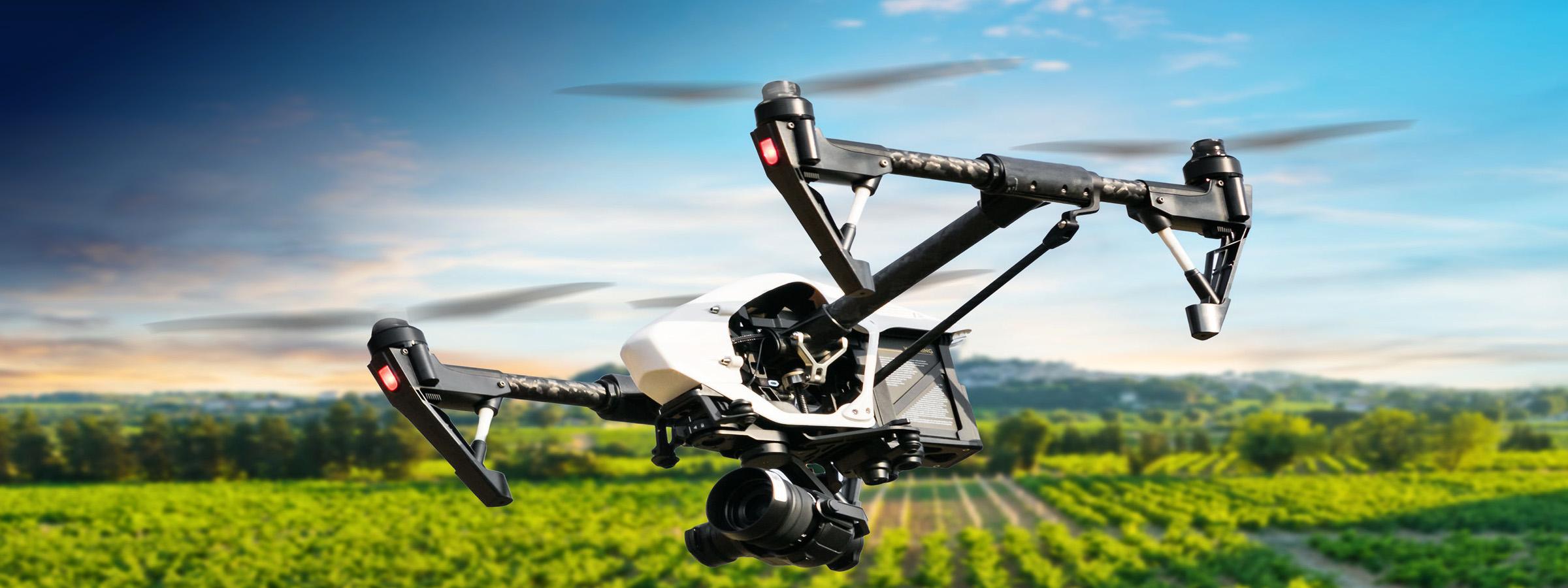 Droni e agricoluta