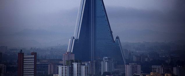 edificio in corea del nord