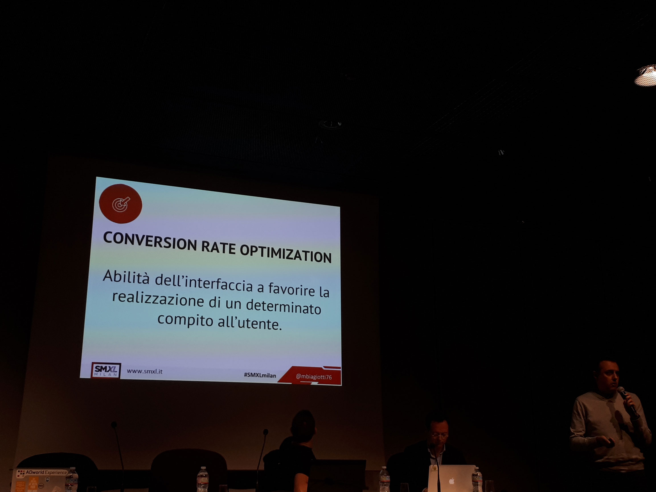 Marco Biagiotti illustra la conversion rate optimization