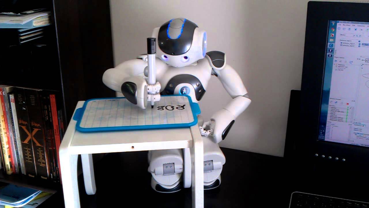 Ai, robot capace di scrivere