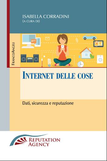 la copertina del libro Internet della cose