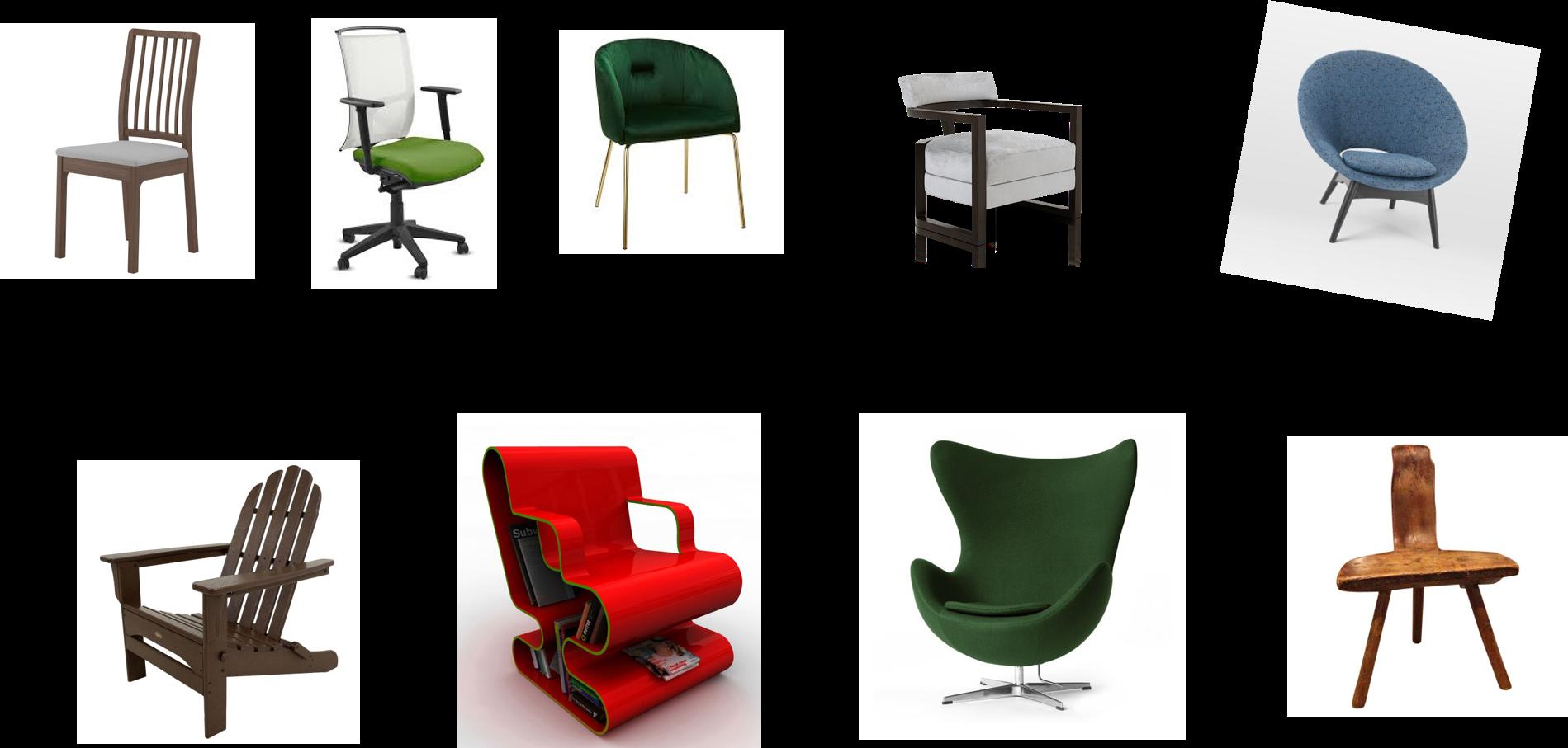 anche una sedia può essere difficile da categorizzare
