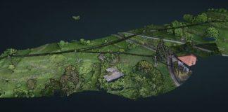 3D e intelligenza artificiale: mappa della rete di distribuzione dell'elettricità