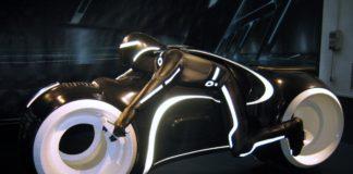 Concept di motocicletta del futuro
