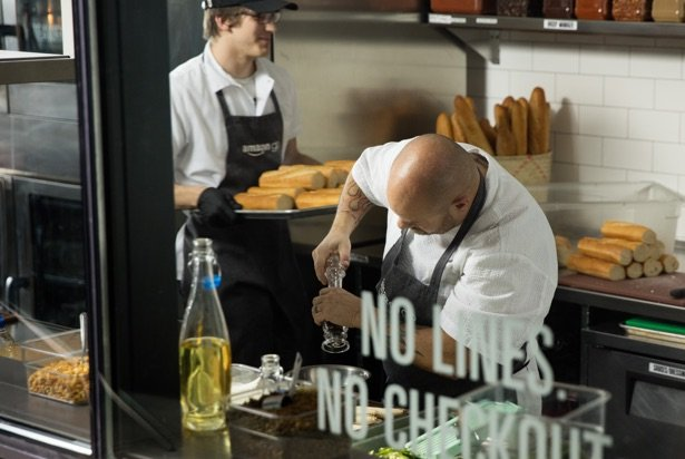 food preparation workers in amazon go