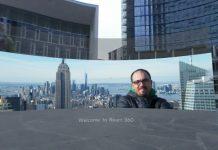 Esempio di UI immersiva sviluppata con React 360