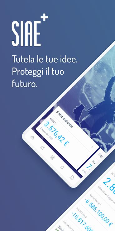 Immagine di copertina dalla app che dice: tutela le tue idee. proteggi il tuo futuro