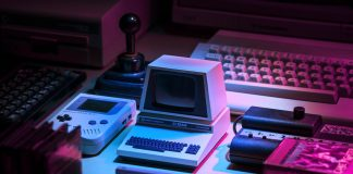 audio game videogame vintage