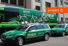 Europcar-branded green car fleet